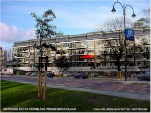 Rotterdam Optoppen flatgebouw